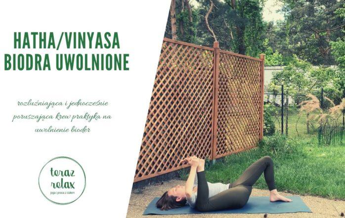 Połączenie uważności jogi klasycznej i płynności vinyasy będzie miało wspaniałe zastosowanie przy pracy z mobilności bioder. Pozwól sobie na relaks i wpuść przestrzeń do swoich bioder!